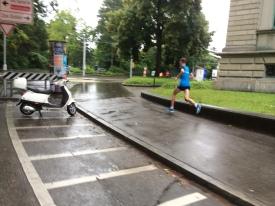 ckr auf der EM-Marathon-Strecke