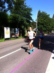 Christian bei 10km