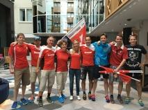 Delegation des TVO und ckr-Fanclubs