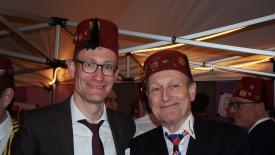 ckr mit Altkronrat und Ehren-Schatzmeister Fridolin